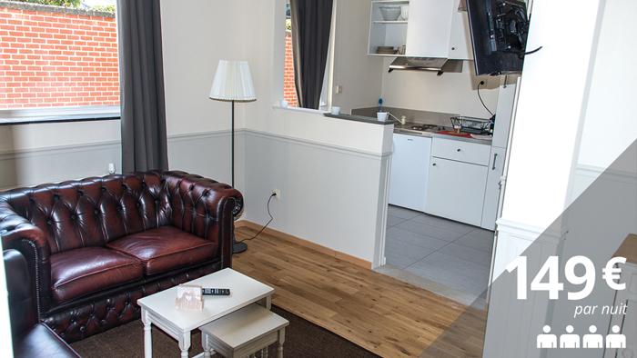 Appartement avec terrasse - 70m²